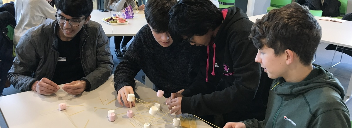 A YPAG doing a learning activity